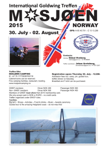 NORWAY 2015 International Goldwing Treffen