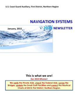 ns-newsletter_2015-0.. - the First Northern Navigation Systems