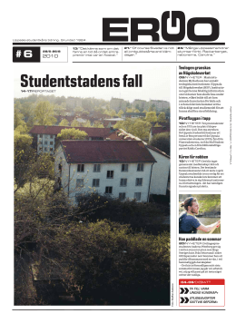 Studentstadens fall