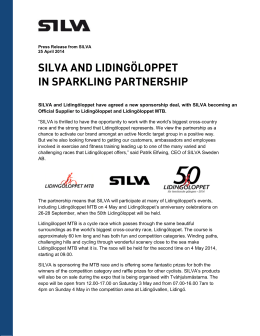 Press release Silva Lidingöloppet English.pdf