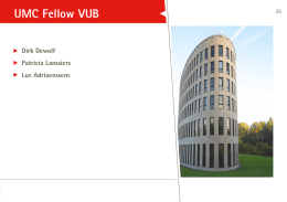UMC Fellow VUB