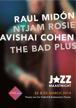 avishai cohen ntjam rosie raul midón the bad plus