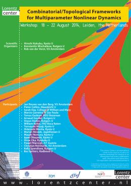 18 - 22 August 2014, Leiden, the Netherlan