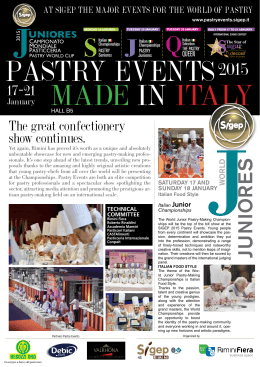 PASTRY EVENTS