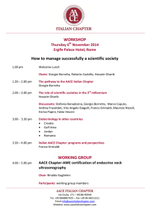 WORKSHOP How to manage successfully a scientific society