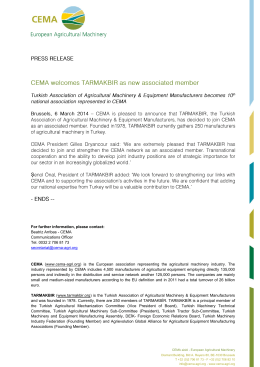 Press_release_CEMA welcomes TARMAKBIR as new associated