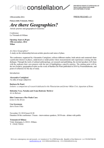 8 Are There Geographies?