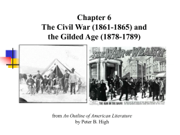 Chapter 6 The Civil War (1861