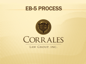 PowerPoint on EB-5 Process