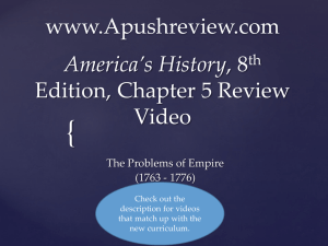 America`s History Chapter 5