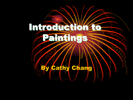 Introduction to Paintings