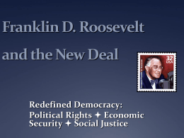 PowerPoint Presentation - Franklin D. Roosevelt and