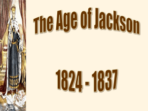 Age of Jackson Part 1