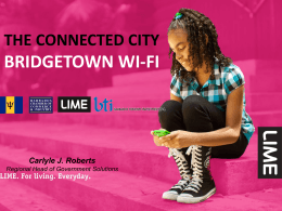 Bridgetown WiFi Project_LIME