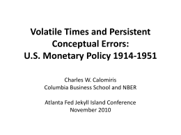 Presentation - Federal Reserve Bank of Atlanta