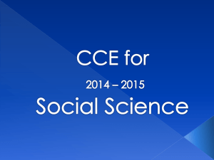 Social CCE PPT