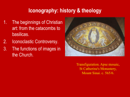 Icons and Iconoclasm - University of St. Thomas