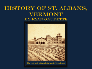 st. albans history