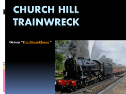 Church hill trainwreck