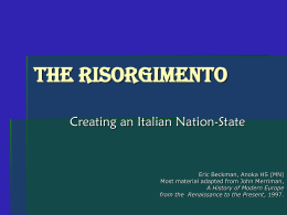 Risorgiamento.ppt - Culver City High School