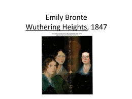 emily bronte 1 powerpoint