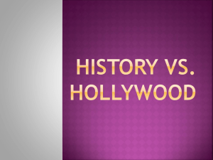 History vs hollywood