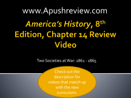 America`s History Chapter 14