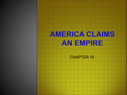 US History Chapter 10 ppt