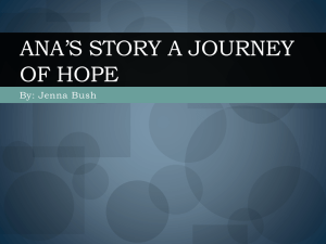 Ana*s Story A Journey of Hope