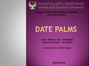 Emirates Society – Date Palms