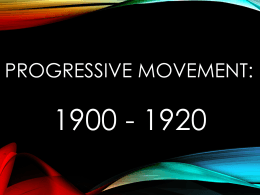 Progressive Movement PowerPoint