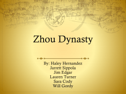 Zhou Dynasty final powerpoint