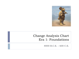 Change Analysis Chart Era1
