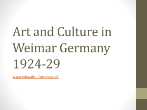 Art and Culture PPT - the Education Forum