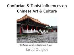 Quigley, Jared - Confucian Taoist influences on Chinese Art Culture