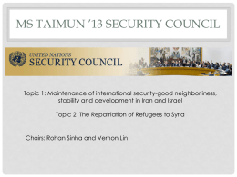 SecurityCouncilChairPresentation_MSTAIMUN