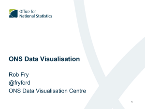 ONS Data Visualisation
