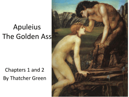Apuleius The Golden Ass