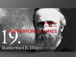 Rutherford B.Hayes