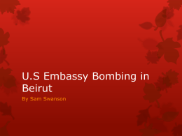 U.S Embassy Bombing
