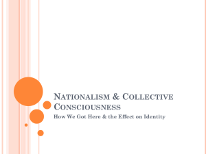 Nationalism & Collective Consciousness