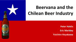 Beervana and Beer Industry In Chile 2.1