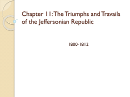Chapter 11 APUSH - Harrison County Schools