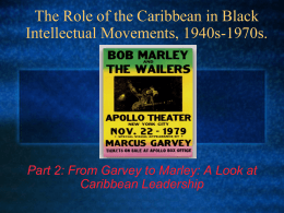 From Garvey to Marley