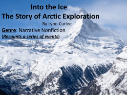 Into the Ice powerpoint