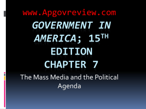 Government in America, Chapter 7