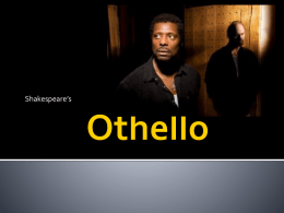 Othello Notes powerpoint