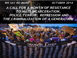 POWER POINT – STOP MASS INC (Oct 22)