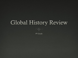 Global 9 Review PowerPoint