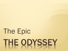 The Odyssey PowerPoint - Glassboro Public Schools